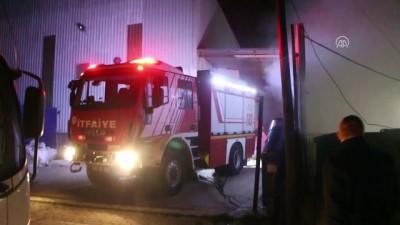 elektronik atik - Kocaeli'de geri dönüşüm fabrikasında yangın
