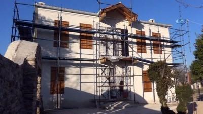 kalaba -  Stratonikeia Antik Kenti'ndeki 100 yıllık ev restore ediliyor