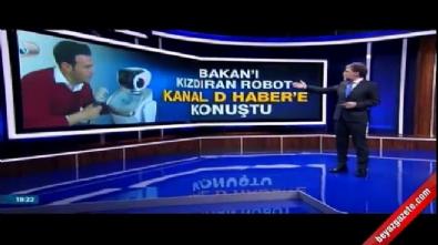 ulastirma denizcilik ve haberlesme bakani - O robot Bakan Arslan'dan özür diledi