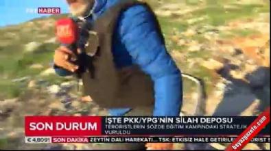 zeytin dali harekati - İşte PKK'/YPG'nin silah deposu