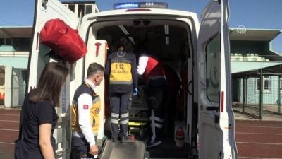 ambulans helikopter - Ambulans helikopter 13 günlük bebek için havalandı - ZONGULDAK