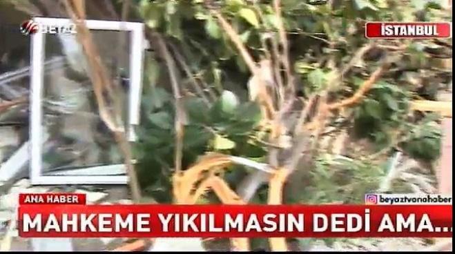 bakirkoy belediyesi - Mahkeme 'yıkılmasın' dedi, Bakırköy Belediyesi yıktı