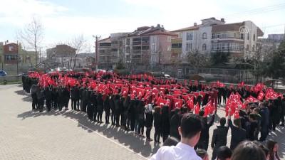 aritas - Lise öğrencilerinden Afrin koreografisi - BALIKESİR