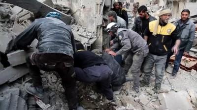 misket bombasi - (ARŞİV) Doğu Guta'da son 12 günde 674 sivil öldürüldü