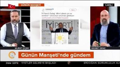 Murat Çiçek'ten Ümit Özdağ'a muhteşem yanıt