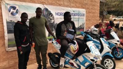 Uluslararası Dakar 'Motor Show' gösterisi - DAKAR
