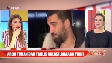 Arda Turan'dan ''Kafanı, gözünü kırarım'' açıklaması