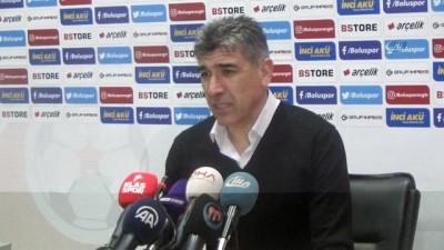 Boluspor- MKE Ankaragücü maçının ardından