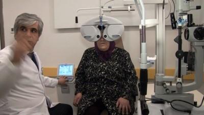 goz ameliyati -  Oturarak katarakt operasyonu