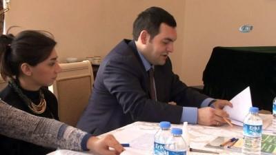Azerbaycan Büyükelçiliği'nde seçim heyecanı