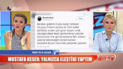 CHP'liler tarafından protesto edilen Mustafa Keser, Söylemezsem Olmaz'a konuştu