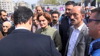 Taksim'de yoğun güvenlik önlemleri
