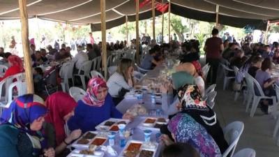 Uzunhasanlar'da binlerce kişi geleneksel köy hayrında buluştu