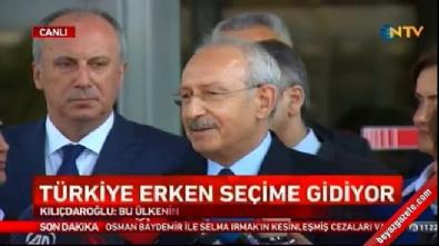 Kılıçdaroğlu'na sorulan soru CHP'li İnce'yi güldürdü