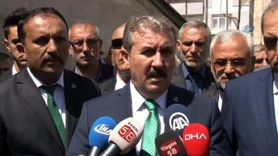 BBP Başkanı Destici: 'Cumhur ittifakının adayını destekleyeceğiz'