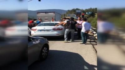 arac plakasi -  Mersin'den Bodrum'a uyuşturucu getiren 4 kişi tutuklandı