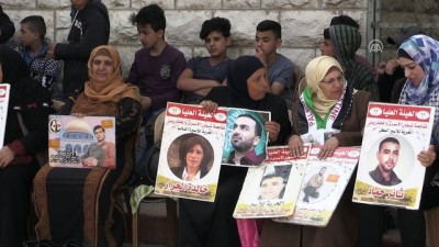 Batı Şeria'da Filistinli tutuklulara destek gösterisi - RAMALLAH