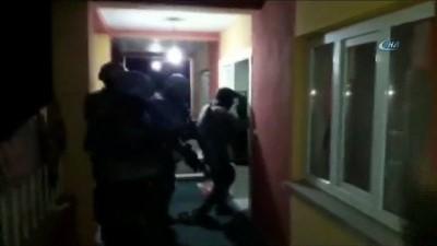 PKK/KCK operasyonu kamerada; 12 gözaltı