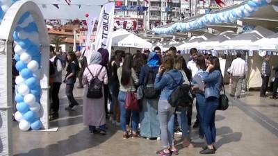 Aydın'da 7. İstihdam Fuarı açıldı
