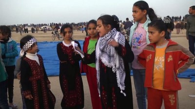 aritas - Filistinli çocuklar 'Çocuklar Günü'nü İsrail kurşunları altında geçirdi - GAZZE