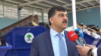 elektronik atik -  Şehitkamil Belediyesi, elektronik atıklarını geri dönüşüme kazandıran E-MÖP projesini başlattı