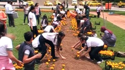 kisa film yarismasi -  Sanko Park Çiçek Karnavalı kortej yürüyüşüne dev katılım