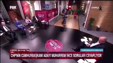 fox tv - Muharrem İnce Müslüman katili 'Esad'la barışırım' dedi