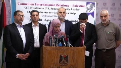 Filistinlilerden ABD'li Senatör Schumer'e Gazze çağrısı - GAZZE