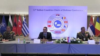 Sırbistan'da 'Balkan Ülkeleri Genelkurmay Başkanları Konferansı' - BELGRAD
