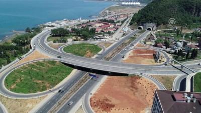 karayolu tuneli - Trabzon'da ulaşıma 9,2 milyar lira harcandı