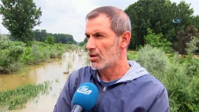 kanal d -  Yağışlar sonrasında ekinler sular altında kaldı
