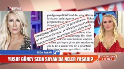 Seda Sayan'dan ''Yusuf Güney'' açıklaması!