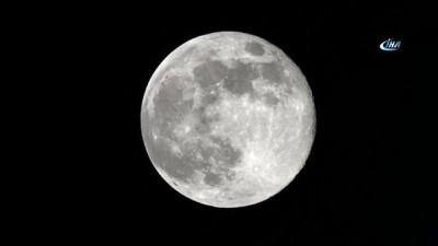 uzay istasyonu -  - Uzay İstasyonundan Ayın Nefes Kesen Görüntüleri Çekildi - Uzaydan Ayın Dünya Atmosferinde Batışı Görüntülendi