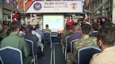 ambulans helikopter - Türkiye-KKTC ortak tatbikatı başarıyla tamamlandı (3) - GAZİMAĞUSA