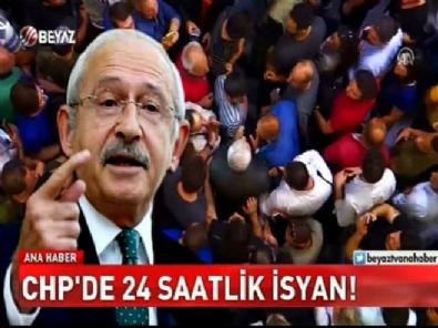 ataturk - CHP Karıştı! Genel merkez önünde oturma eylemi