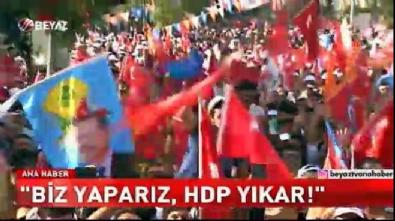 Erdoğan: 53 kardeşimin kanı Demirtaş'ın eline bulanmıştır