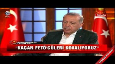 kanal d - Erdoğan'dan OHAL açıklaması: Kaldırabiliriz...
