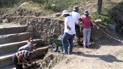 Batı Karadeniz'in Efes'i'nde kazı çalışmaları başladı - DÜZCE