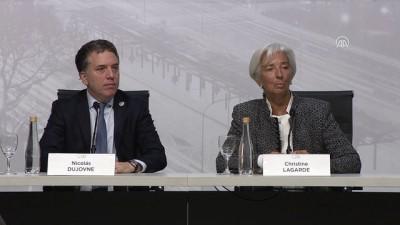 enflasyon hedefi - IMF Başkanı Lagarde'dan G20 bakanlarına uyarı - BUENOS AIRES