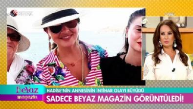 hadise acikgoz - Hadise'nin annesini sadece Beyaz Magazin görüntüledi