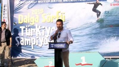 muhtarliklar - Türkiye'nin ilk Dalga Sörfü Şampiyonası Kocaeli'de gerçekleşti