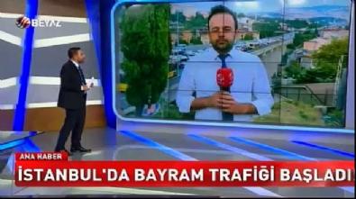 Ankara ve İstanbul'da bayram trafiği (Beyaz Tv Özel Haber)
