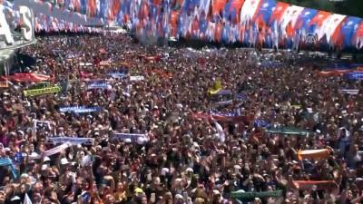 Cumhurbaşkanı Erdoğan: 'Bizi bölmek isteyenlere en güzel cevabı sandıklarda veriyoruz' - ANKARA