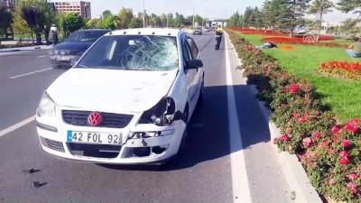 Otomobilin çarptığı yaya öldü - KONYA