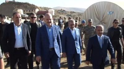 İçişleri Bakanı Süleyman Soylu, bayram namazını Beytüşşebap'ta kıldı