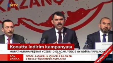 Çevre Bakanı Murat Kurum dev kampanyayı anlattı