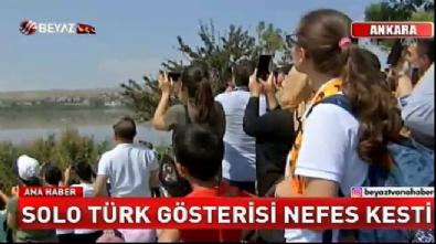Solo Türk'ten nefes kesen gösteri