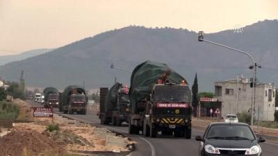 firtina obusu - Suriye sınırına tank ve fırtına obüsü sevkiyatı (1) - HATAY
