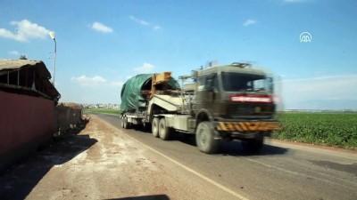firtina obusu - Suriye sınırına tank ve fırtına obüsü sevkiyatı (2) - HATAY