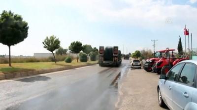 firtina obusu - Suriye sınırına tank ve fırtına obüsü sevkiyatı (3) - HATAY